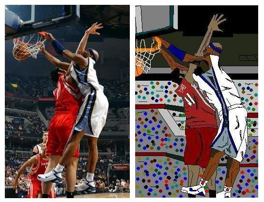 Three NBA Moments Recreated With MS Paint | NBA 24/7 365